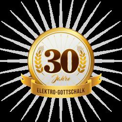 Badge 30 Jahre Elektro-Gotschalk